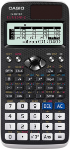 Casio calculator.